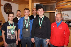 Stephan Riedl mit seiner Goldmedaille