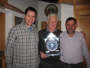 Die strahlenden Sieger (v.l.): Martin Bachnetzer, Pepi Widauer und Dietmar Falch