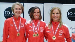 Die Mannschaft Tirol (v.l.): Elisabeth Kathrein, Sonja Kaspar, Angelika Sporer