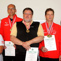 Sieger Tirol 1 mit Christof Melmer, Hannes Gufler und Franz Mair