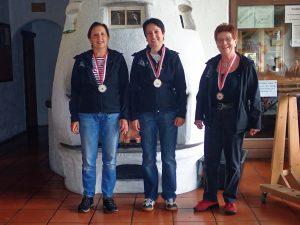 Hobby Frauen (v.ö.): Anna Prommegger (2.), Barbara Melmer (1.), Sieglinde Losch (3.)