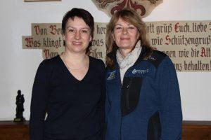 Die Finalsiegerinnen (v.l.): Barbara Melmer (2.). Edeltraud Kurz (1.)