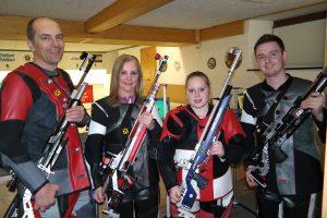 Team Mieming 1 (v.l.): Christof Melmer, Angelika Sporer, Patricia Rangger, Hannes Patka