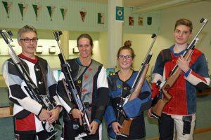 Team Mieming 2 (v.l.): Alois Larcher, Sonja Kaspar, Anna-Maria Riml, Stephan Riedl (nicht im Bild: Berta Szeker)
