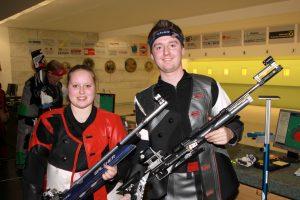 Das Siegerteam: Patricia Rangger, Hannes Patka
