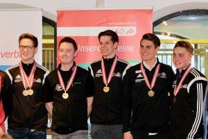 Die Tiroler Mannschaft Männerklasse: 2. v.l. Hannes Patka