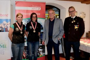3. Platz für Angelika Sporer und 2. Platz für Sonja Kaspar