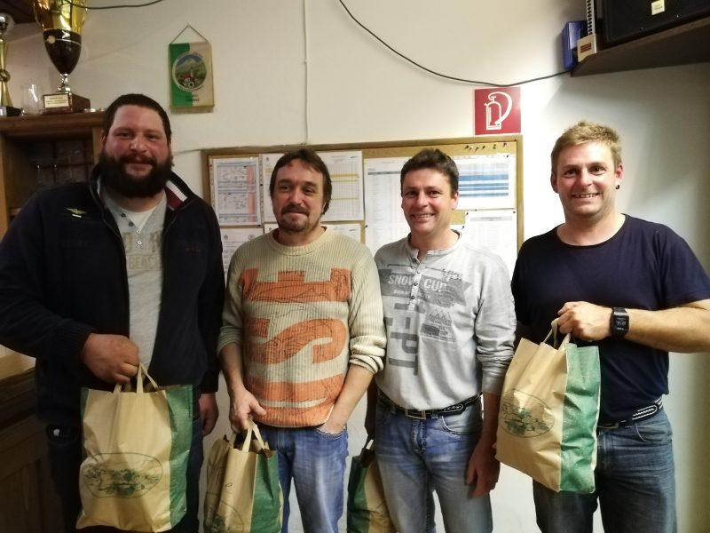KTZV1: Markus Pienz, Stefan Haid, Thomas und Markus Burgschwaiger